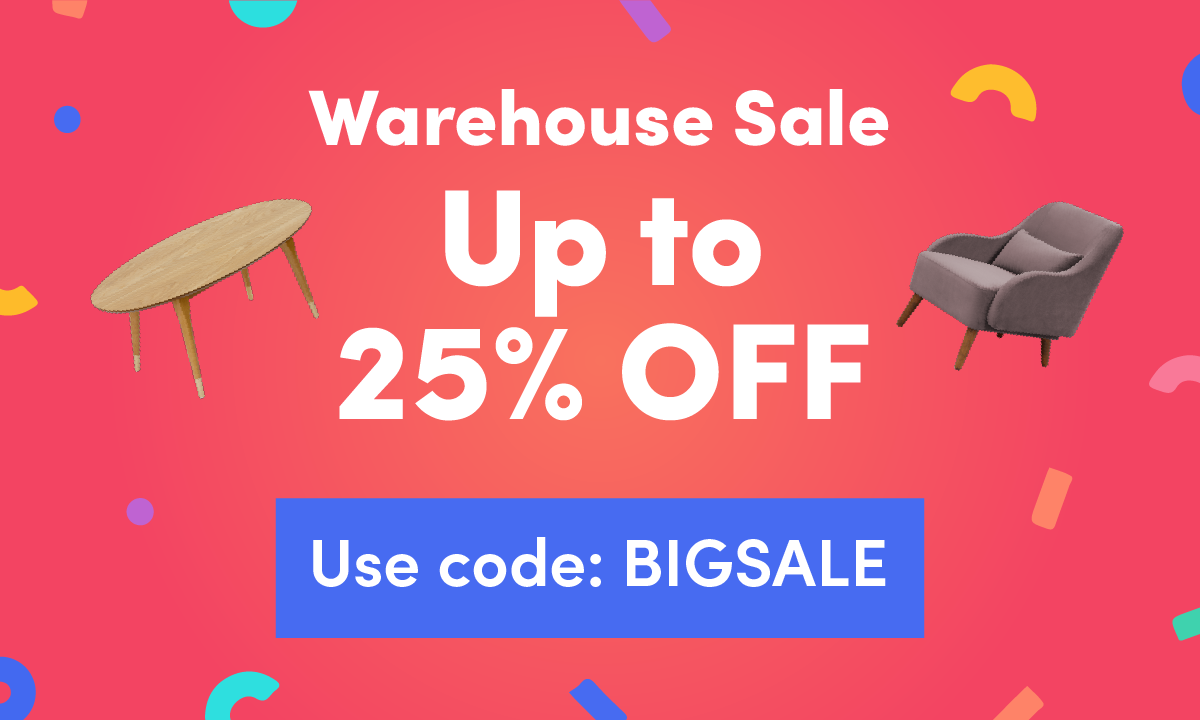 Warehouse Sale (25% Off)